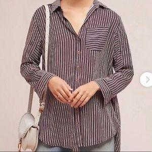 Maeve high low shirt / dress light weight